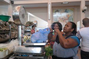 Local market in Mindelo